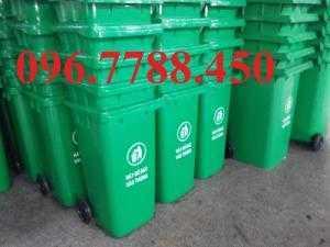 Bán thùng đựng rác nhựa 120 lit- 240 lit giá rẻ trên toàn quốc.
