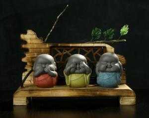 Bộ tượng tam không - chú tiểu mập - 3 không
