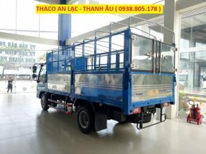 Giá xe tải Ollin360, sản phẩm hot tháng 1/2018, thùng 4m3, tải trọng 2,2 tấn