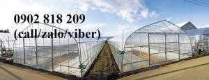 Lưới chắn côn trùng, lưới quây vườn rau sạch