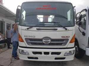 Bán Xe tải Hino gắn cẩu Unic 340