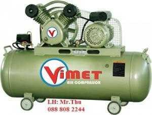 Máy nén khí cao áp 2 cấp VTH305. Máy nén khí 2 cấp nén 10HP VIMET MTH310