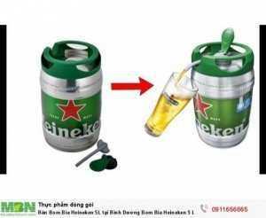 Bán Bom Bia Heineken 5L tại Bình Dương Bom Bia Heineken 5 Lít