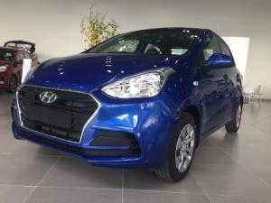 Hyundai i10 1.2 sedan base màu xanh dương...