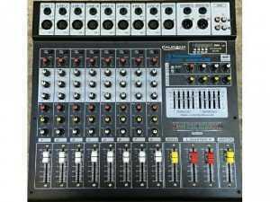 Mixer bàn 8line USB và Bluetooth