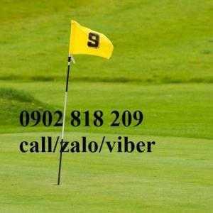 Cột cờ golf nhựa