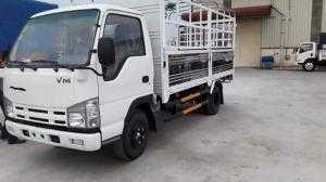 Xe tải Isuzu 3.5 tấn thùng dài 4.3 mét màu trắng đời 2017