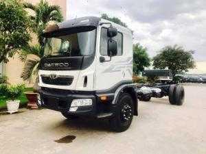 Xe tải Daewoo 9 tấn Prima thùng bạt