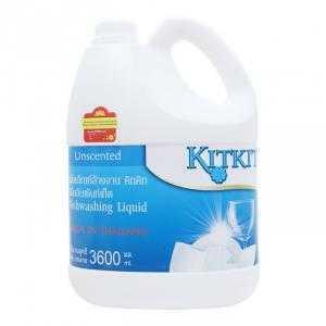 Nước Rửa Chén Kitkit Không Mùi Dạng Can (3600ml)