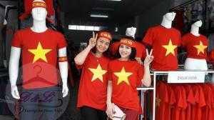 Bán áo cờ đỏ sao vàng tại TPHCM giá rẻ