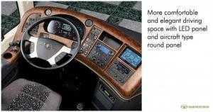 Trả góp lãi suất thấp khi mua Xe khách ghế ngồi cao cấp Daewoo FX120 47 chỗ.