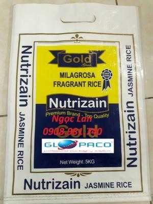 Bao gạo 5kg, 1 kg, 20 kg ,25 kg , 50kg , bap phân bón , bao thức ăn gia súc