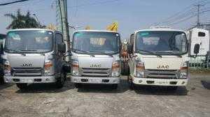 Xe tải Jac 2,4 tấn thùng dài 4m3 tổng tải 4995kg