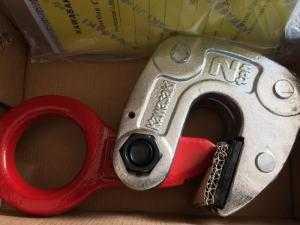 Kẹp tôn tấm 2 Tấn Ngang Kawasaki, móc cẩu tôn 3 Tấn Kawasaki, giải pháp gia công thép tấm hữu hiệu nhất.