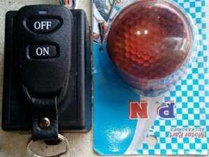 Chống trộm xe máy với remote chống nước