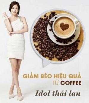 Giảm Cân Không Cần Thuốc với CaFe Giảm Cân Idol Thailand