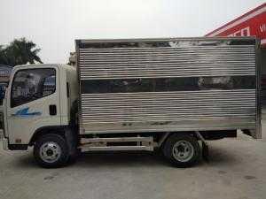 Bán xe tải Deahan Teraco240. Thùng kín. 2,4tấn . Trả góp đến 80% lãi xuất thấ . Giao xe ngay
