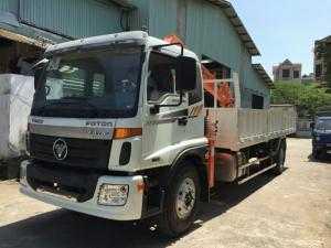 Thaco auman C160 gắn cẩu