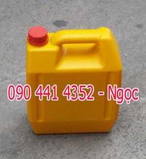 Nơi bán can nhựa đựng hóa chất 5 lít vàng, can nhựa 4 lít mới, can nhựa 2 lít tròn , can nhựa 1 lít tphcm