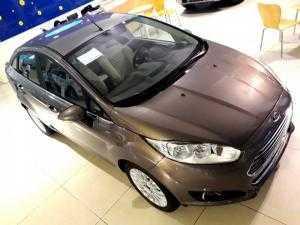 Fiesta Titanium 2017 nâu hổ phách một xe duy nhất