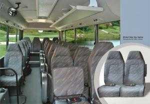 Hyundai Couty Limousine nội thất rộng hơn