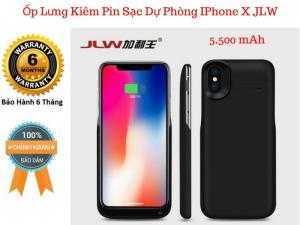 Ốp Kiêm Pin Sạc Dự Phòng IPHONE X JLW-X4, Chống Chai Pin - MSN181327