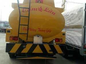 Hino FL Bồn 19 khối chở xăng dầu