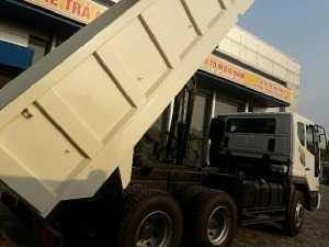 Xe ben Deawoo 10 khối 15 tấn ben tự đổ