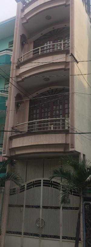 Bán gấp nhà HXH đường Lạc Long Quân, Tân Bình, 60m, 4 tầng.