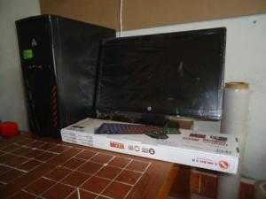 Bộ máy tính chuyên game ( khuyến mại phím chuột mới và bộ chuông báo động )