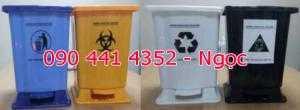 Thùng chứa rác y tế 15 lít, thùng đựng rác trong ngành y 20 lít. Thùng đựng rác trong bệnh viện 15 lít .