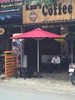 Dù lệch tâm cho kinh doanh quán cafe