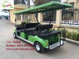 Xe điện sân golf club car 6 chỗ
