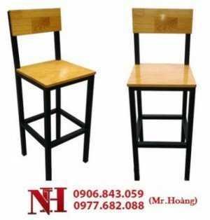 Ghế gỗ cho quán bar, nhà hàng