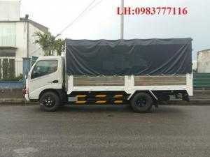 Bán xe tải Hino FL 3 chân, 3 giò, xe Hino FL 14 tấn 15 tấn, thùng dài 9,2 m, FL8JTSL, FL8JTSA