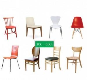 Xã hàng nhiều mẫu ghế cho phòng ăn, phòng kinh doanh