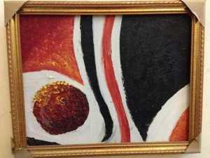 Tranh sơn dầu trừu tượng