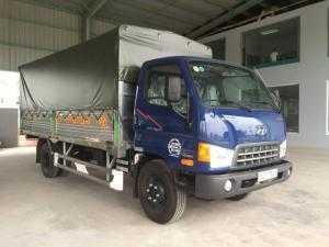 Xe tải hyundai 8.8 tấn HD800 thùng khung mui phủ bạt
