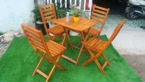 Bộ bàn ghế xếp gỗ cao cấp, chất lượng, giá rẻ