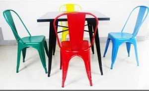 Bộ bàn ghế Tolix