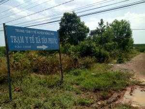 Bán đất 2 mặt đường Tân Phước Đồng Phú Bình Phước
