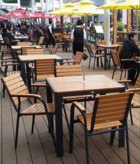 Thanh lý lô bàn ghế giả gỗ cho quán ăn, quán cafe giá gốc tại xưởng