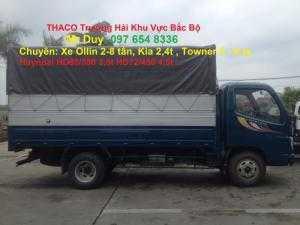 Xe tải 3.5 tấn Ollin350, xe tải Ollin350 3.5 tấn Trường Hải mới hỗ trợ trả góp