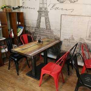 Ghế Tolix cho không gian cafe thêm năng động