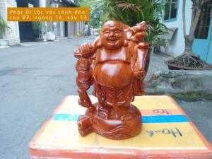 Tượng Phật Di Lặc vác cành đào - TPT29