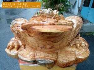 Thiềm thừ gỗ cà te (gõ đỏ) - TPT27