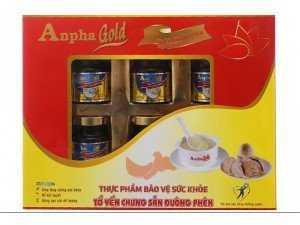 Nước yến chưng sẵn đường phèn Anpha Gold