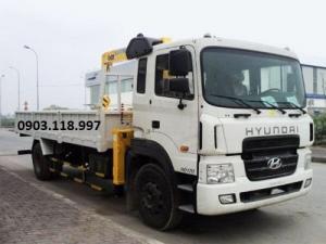 Bán xe cẩu Hyundai HD170 8 tấn vay ngân hàng 80=>95%