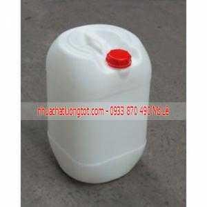 Can đựng hóa chất 30 lít dày, can 25 lít vuông trắng, can 20 lít tròn . Can nhựa đựng hóa chất giá rẻ tphcm