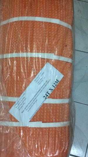 Dây cáp vải cẩu hàng 24 Tấn 12M Eastern Hàn Quốc, phân phối cáp vải Polyester Hàn Quốc giá chuẩn.